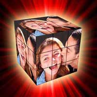 Best gift for girl friend � Rubik's Cube collage