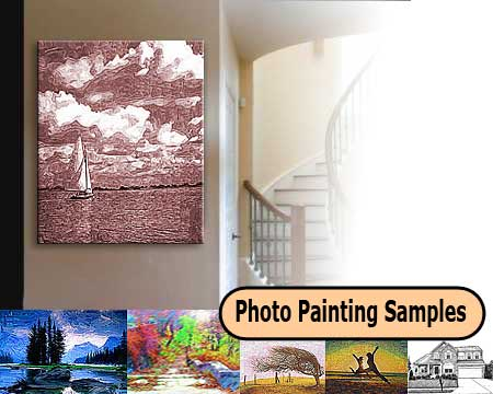 Landscape Wall Art Samples