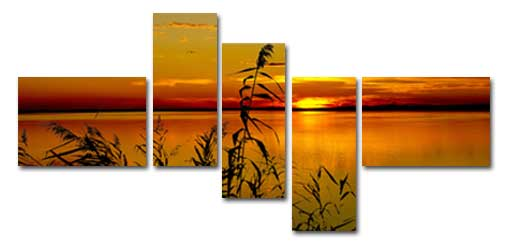 Multi-Panel Wall Art from Your Landscape Photos