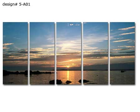 Large multi-panels canvas prints