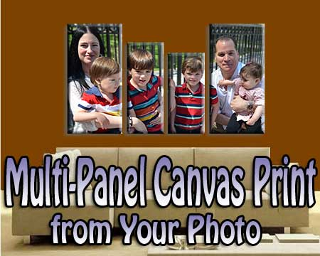 Mothers Day multi panel canvas wall art