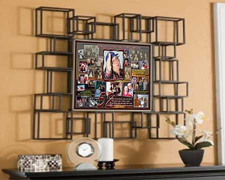 Creative 52nd Birthday Gift for Husband, Hubby turning 52, Photo Collage