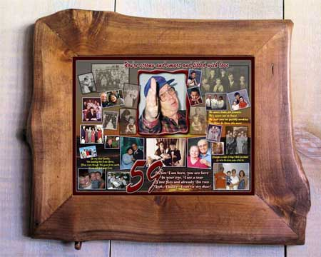 DIY 59th Birthday Gift for Husband 59 B-day Photo Collage