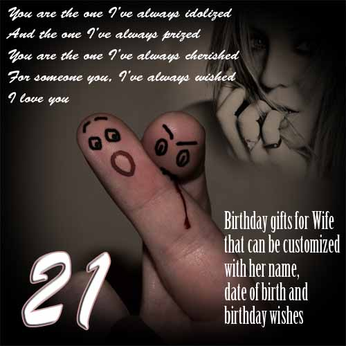 21st birthday gift for wife, ideas for women turning 21