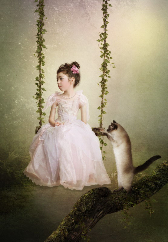 Children portrait - Sad princess