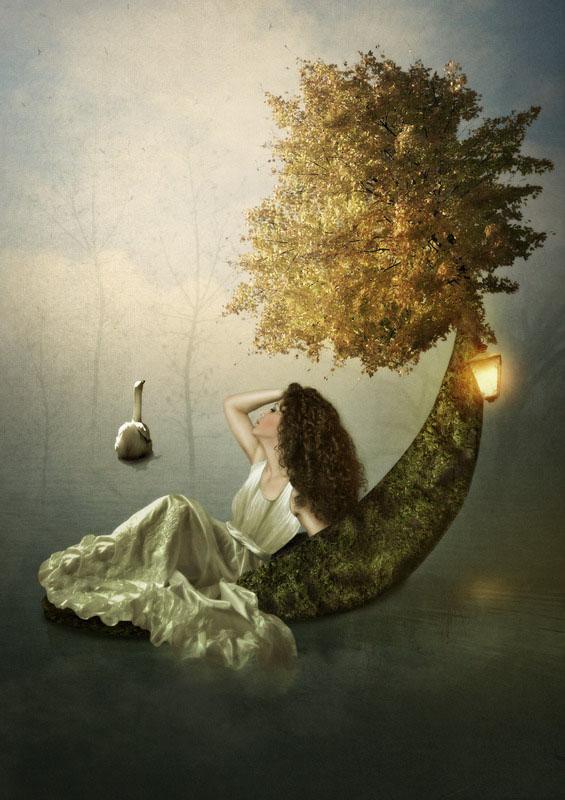 Children portrait - Dreams before dawn