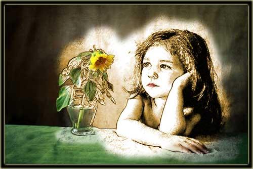 Custom children portrait oil painting, pet, photo, canvas