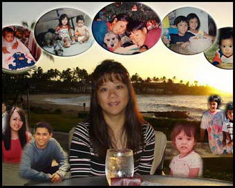 Custom photo gift for mom birthday, mother picture collage ideas