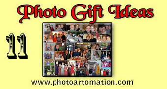 Photo gift ideas for wife-husband birthday, collage