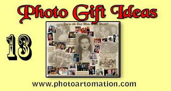 Photo gift ideas for mothers birthday