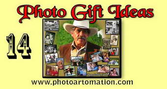 Photo gift ideas for fathers birthday