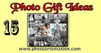 Photo gift ideas for twin sisters birthday