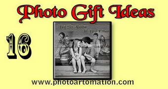 Photo gift card ideas for sister-brother birthday
