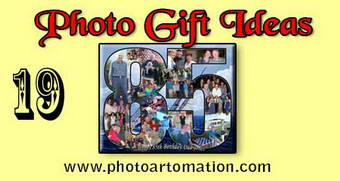 Photo gifts for grandpa 85th birthday