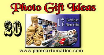 Funny photo gift for birthday, pic collage