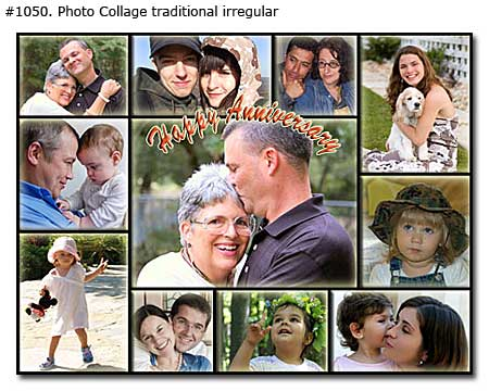 Traditional Photo Collages Samples 3