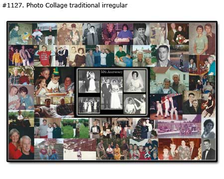 50th anniversary collage example