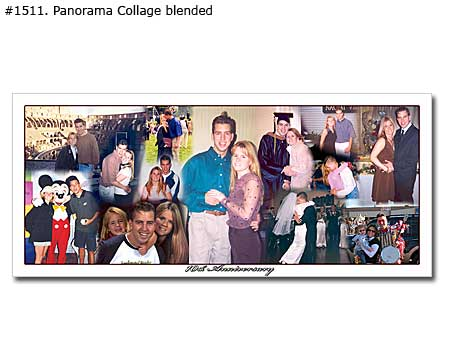 Family photo collage sample 1511