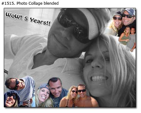 Family photo collage sample 1515