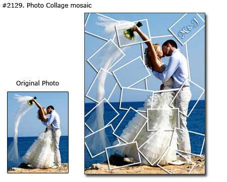 Wedding collage example 2129