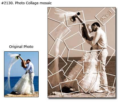 Wedding collage example 2130