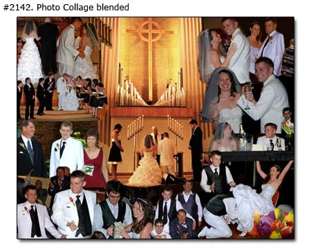 Wedding collage example 2142