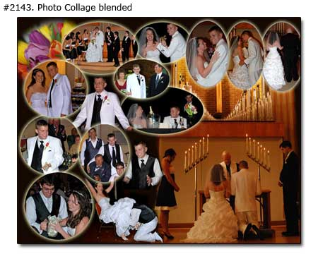Wedding collage example 2143