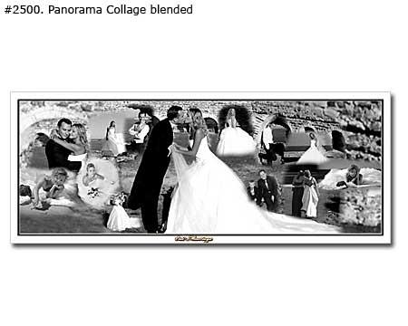 Wedding collage example 2500