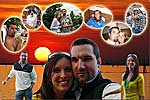 Personalized Collage of couple - 10 photos