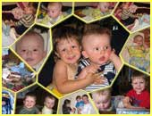 Personalized Kids Collage 13 photos