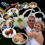 Custom Wedding photo collage 10 photos