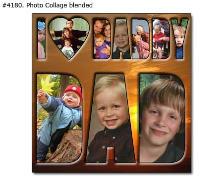 Fathers Day photo gift for dad from children 4181