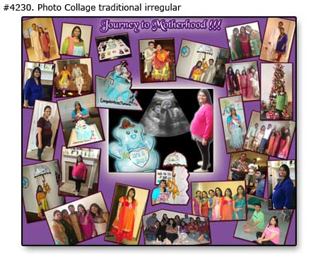 New mom family photomontage motherhood traditional 4230