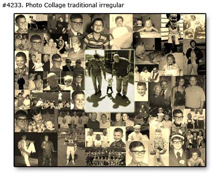 Collage of Family memories