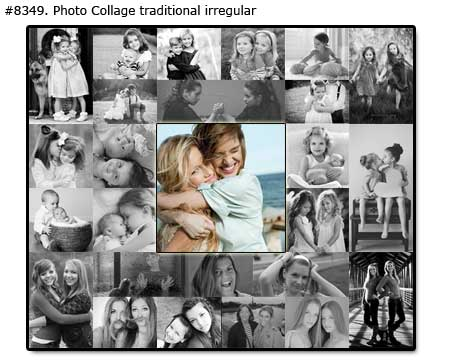 Photo collage for sister birthday - Photomontage traditional