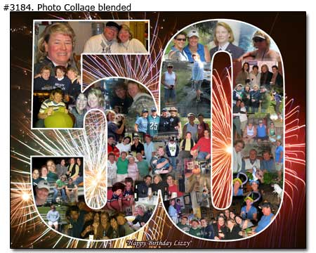 Birthday Photo Collage