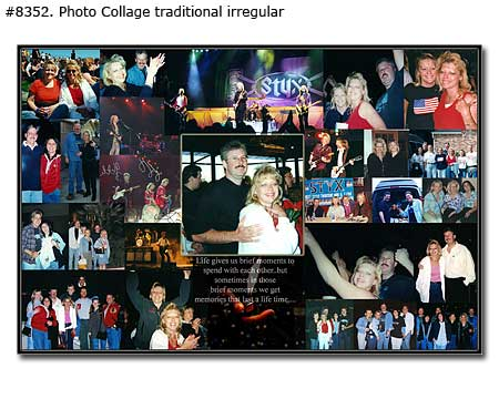 Happy birthday collage for wife