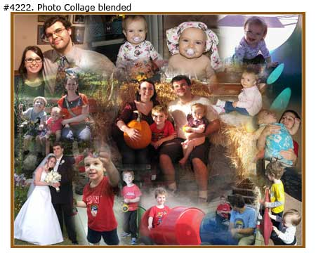 Children Photo Collages Samples 2