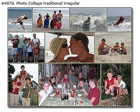Picture montage traditional for married couple