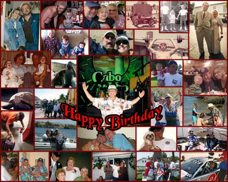 Custom photo collage ideas for birthday or anniversary gifts