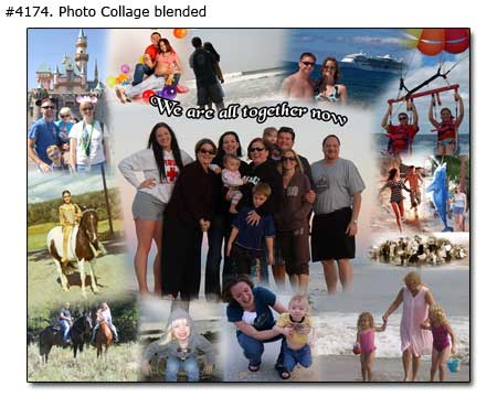 We are all together now picturemontage