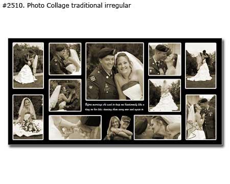 Personalized Wedding Photo Collage
