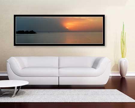 Custom size Panoramic Poster Print