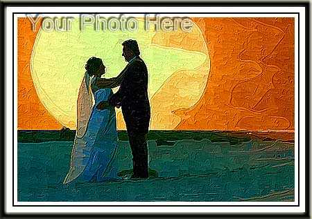 3rd Anniversary Gift for Husband Wedding Portrait Painting
