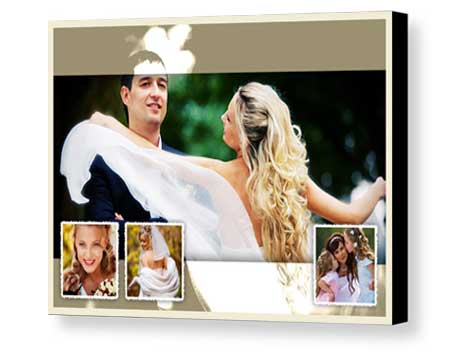 Custom wedding multi-pictures Board Mounting