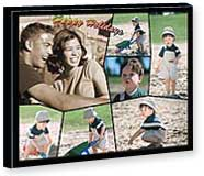 Canvas Colored  Border on Front