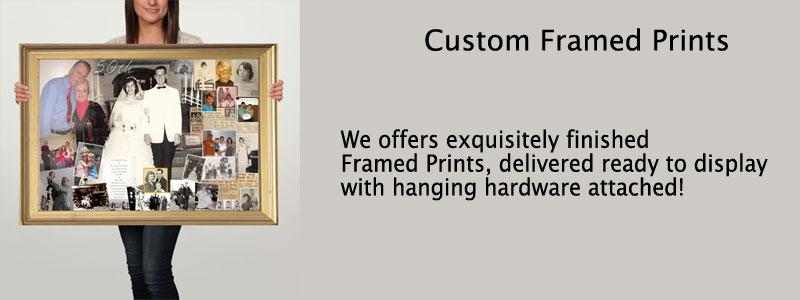 Custom size frame, personalized Wall Art Print