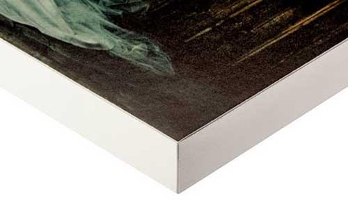 White Standout Mount photo Matte print