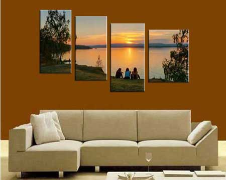Multi-Panel Canvas Wall Art