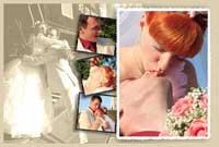 Wedding anniversary multiple picture poster